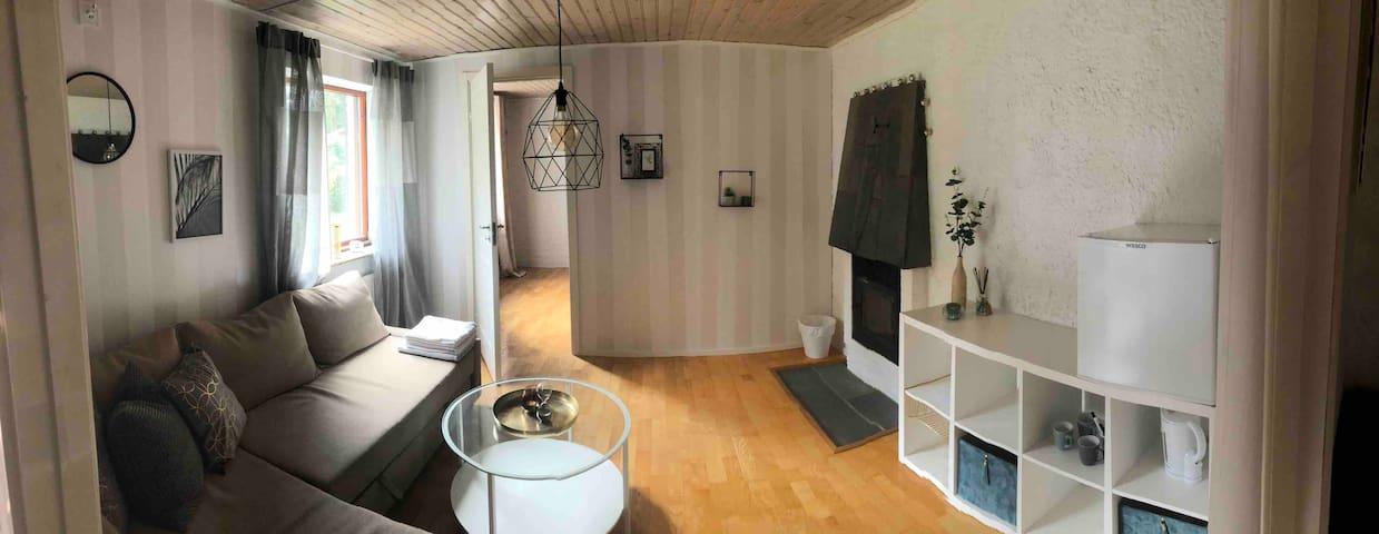One bedroom with Livingroom on Ground floor