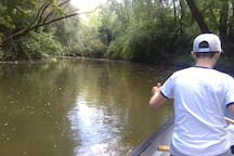 Canoeing on the river Bednja (0,5km)