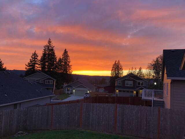 Enjoy sunsets on the deck - just miles from Casino