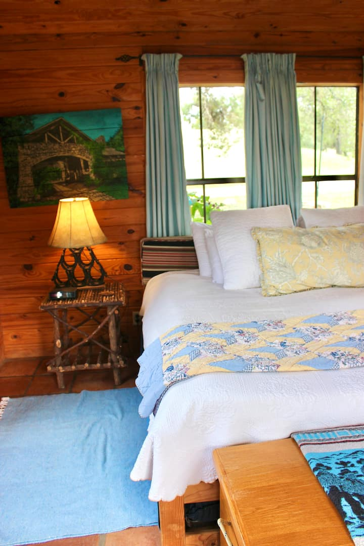 Glamping in the Texas Hill Country