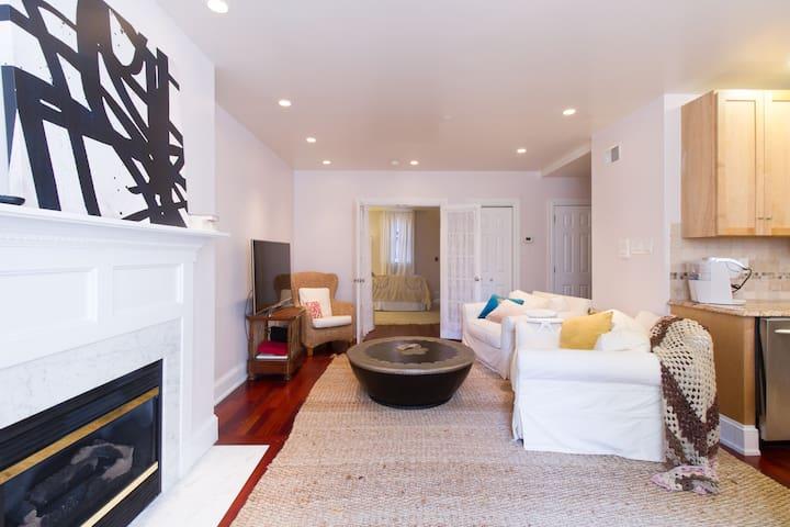 Luxe Urban Suite in Rittenhouse & Fitler Sq - Philadelphia - Apto. en complejo residencial
