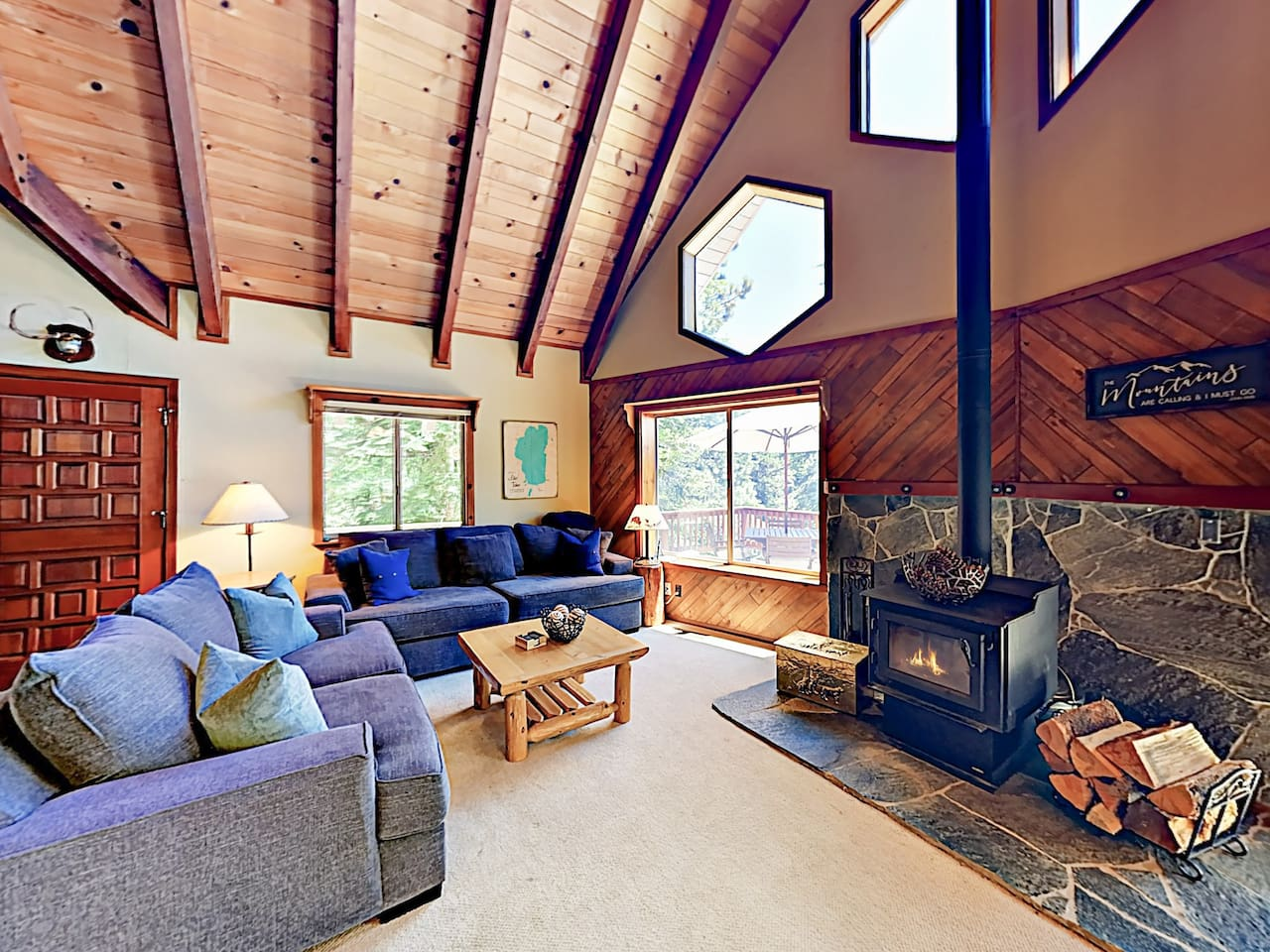 Welcome to Tahoe Vista! This house is professionally managed by TurnKey Vacation Rentals.
