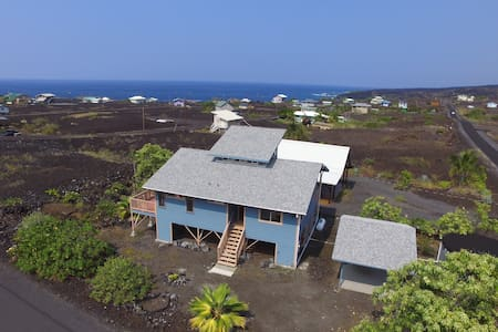 Newly Updated Milolii Beach Home With Ocean Views - Captain Cook