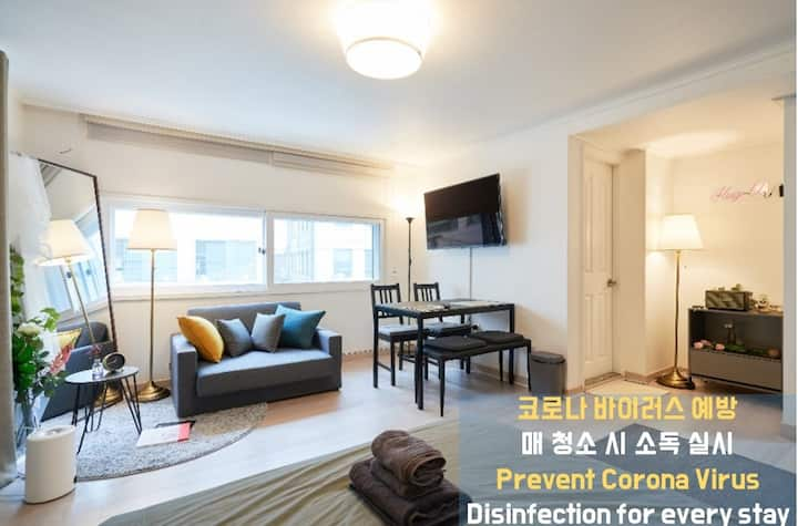 H1] [HapJeong] Nearby Hongdae, High End&Cozy Place
