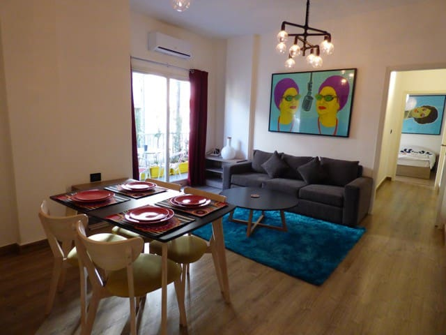 Enjoy a cool and comfy stay in Mar Mikhael - Beirut - Flat