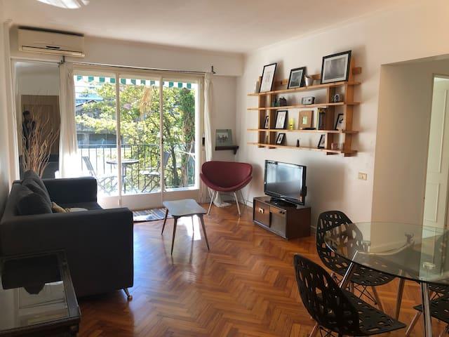 Lovely Apartment Overlooking Garden in Las Canitas