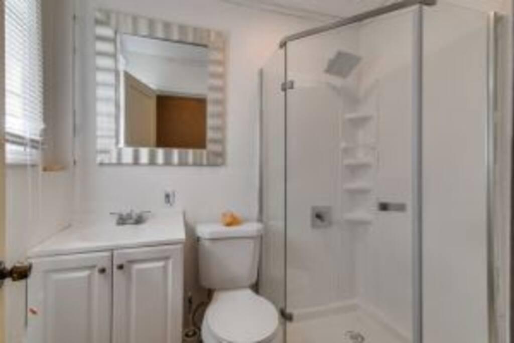 Full Shower Bathroom