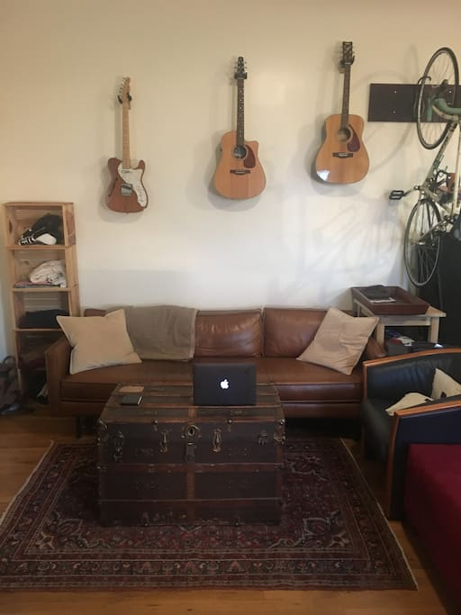 Perfect space for leisure or getting work done