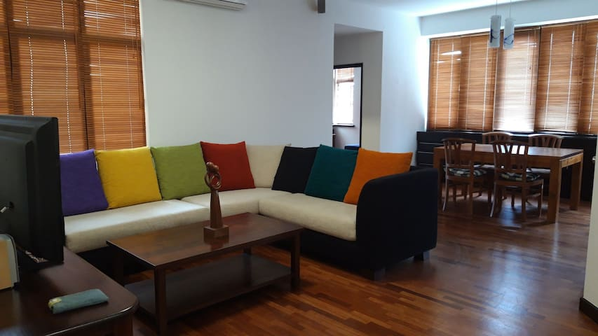 Cost quiet apartment nearby forest reserve in TTDI