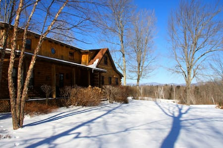 The Landy's Log Cabin - Mount Holly - Rumah