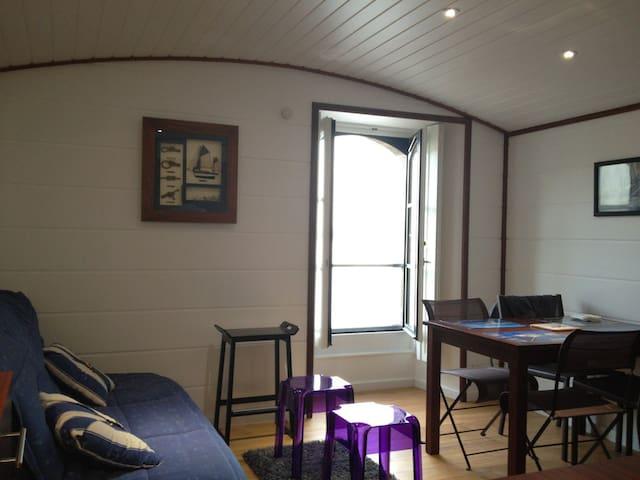 T1 type cabine de bateau St malo - Plouër-sur-Rance - Wohnung