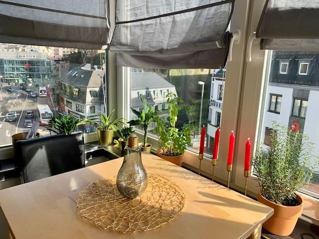 süße Maisonette mit Dachterasse in der Innenstadt