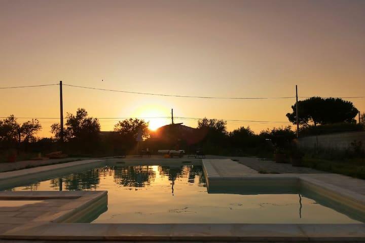 Casa vacanze rigenerante a Partinico con piscina