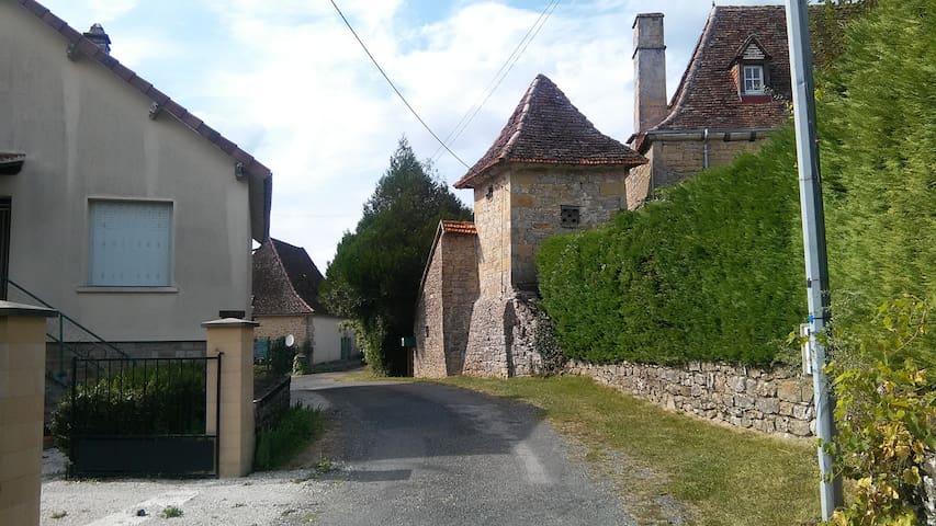 Entrée hameau