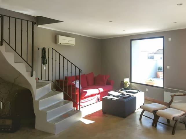 Luxurious apartment with terrace - Jonquières - Daire