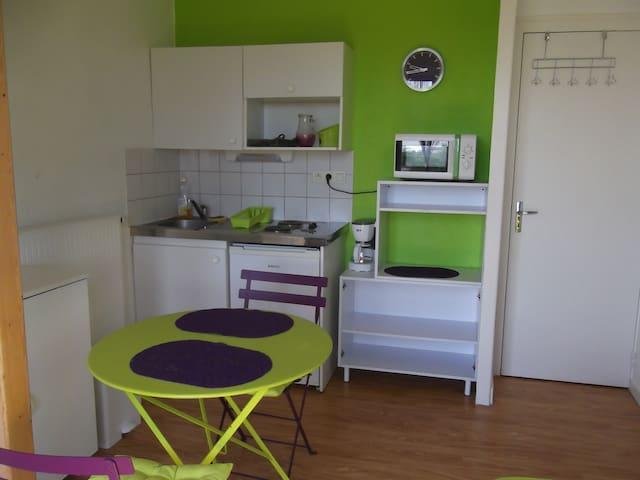 Appartement T1 meublé 30m²
