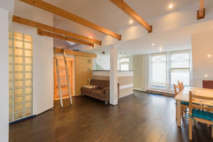Außergewöhnliches 1-Zimmer-Apartment - 59qm