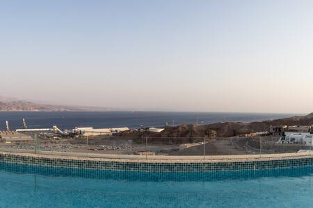Luxury penthouse private pool stunning sea view