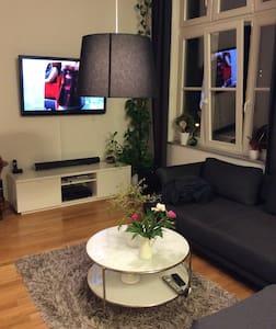 Moderne Wohnung im Zentrum - Leipzig - Leilighet
