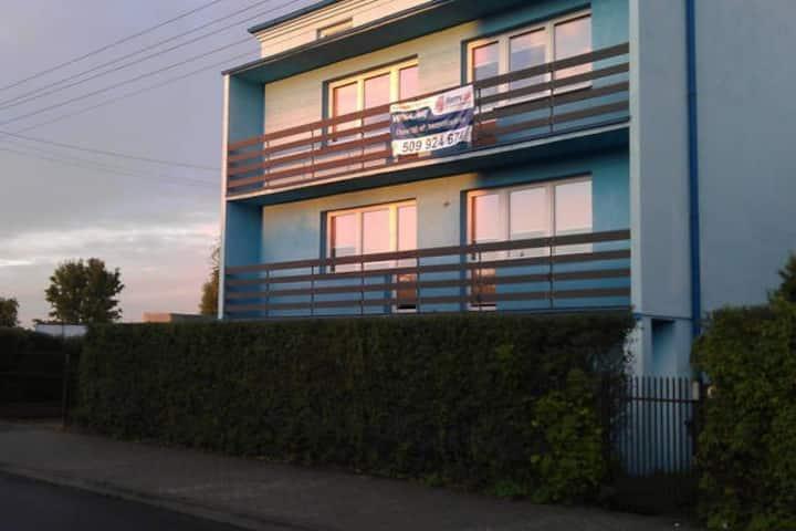 Wyposażony budynek mieszkalny