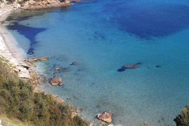 Villa Nafsika stunning view of the Aegean Sea