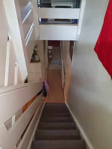 Stairs going updtairs