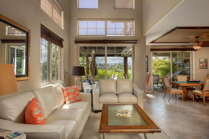 Luxurious Mauna Lani home with views