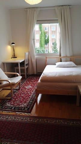 Cosy double bed in Aarhus near universities - Aarhus - Leilighet