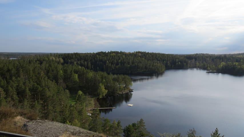 Ausblick in der Nähe
