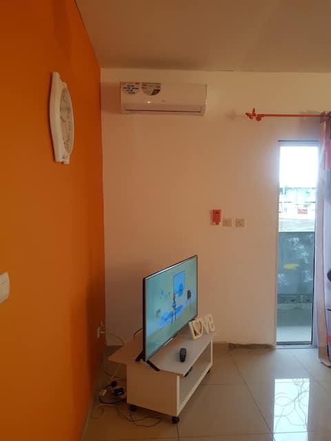 Appartement cosy 2 chambres Angondjé Libreville