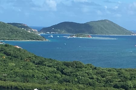 Tortola Super View Restful Loft East-End