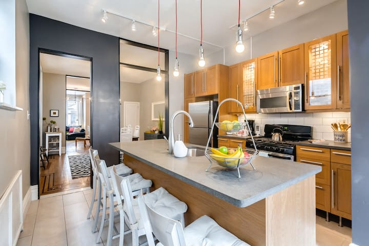 SUPERHOST!Large 4BR Heart of Philly - Philadelphia - Ev