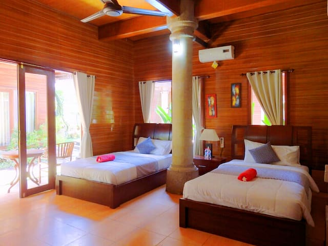 Budget price cottages at jimbaran