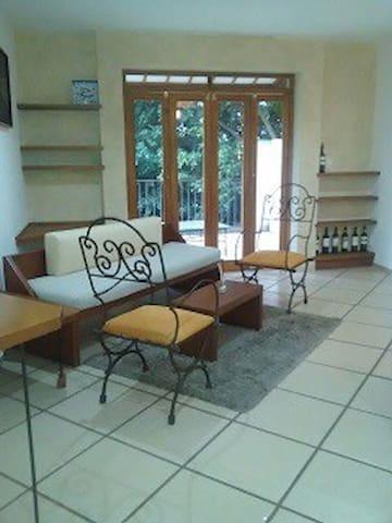 Acogedor departamento en zona Norte de Cuernavaca - Cuernavaca - Apartment