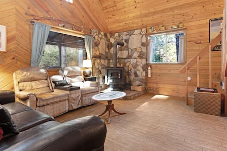 Updated, dog-friendly cabin in a secluded area - minutes from beach & town!