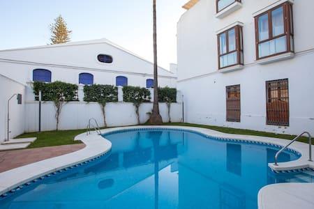 Atico en pleno centro con piscina , - Санлукар де Баррамеда - Квартира