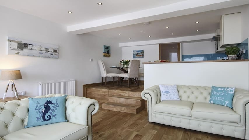The Captain's Bank: self-catering luxury flat - Porthmadog - Huoneisto