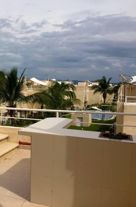 Barra del Roof Garden.