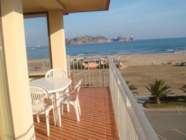 Seafront apartment with parking and air-conditioning - Estartit (L´) - Byt