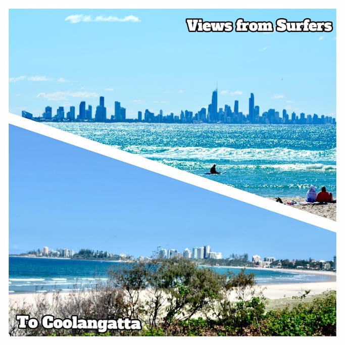 The MILLION DOLLAR view, from Surfers Paradise to Coolangatta, breath taking!