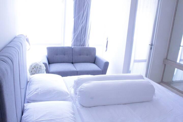Apartemen luxury di tengah kota