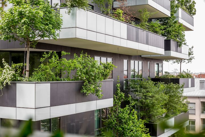 Beautiful flat in the Vertical Forest! 79888