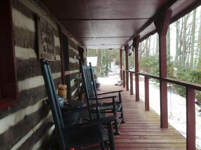 Cozy log cabin in the woods - Lenoir - Cabin