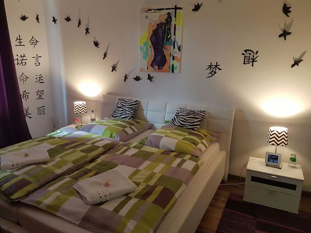 Modern room near to Munich Airport - Freising - Leilighet