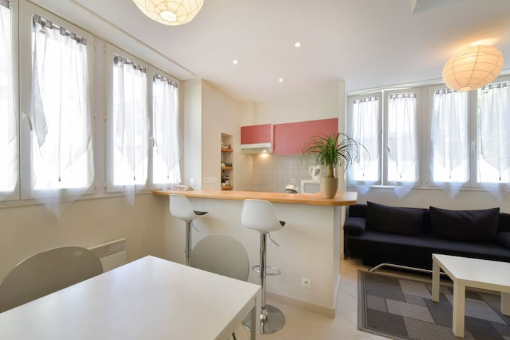Grand studio à Bordeaux - Bordeaux - Wohnung