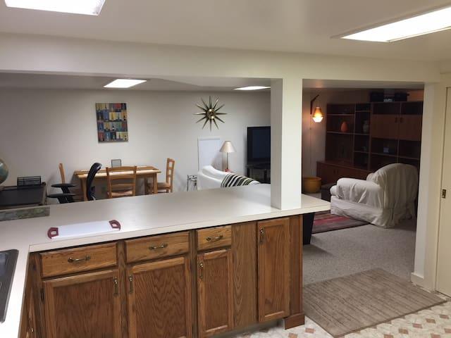 Private Apartment in the Heart of Ballard
