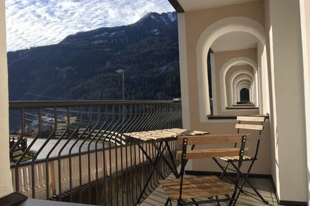 Two bedroom Fliess Apartment with Mountain view - Fließ - Apartamento
