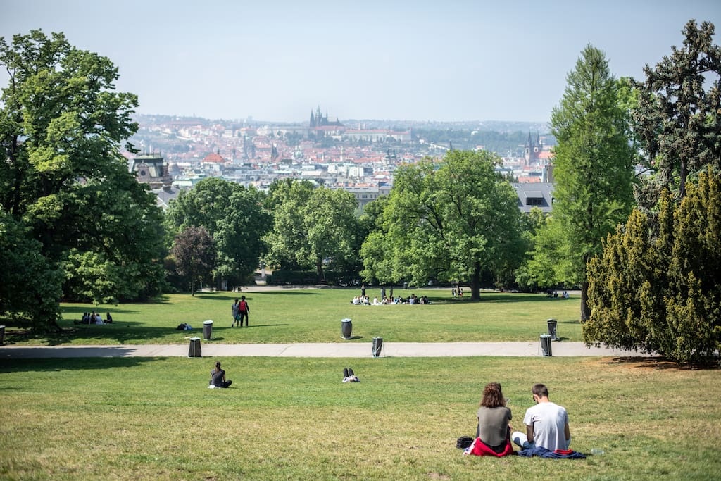 BEST VIEW of the Prague is just 50 meters from the flat!!!