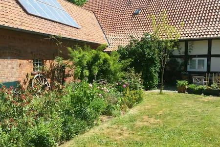 Ferienwohnung in altem Fachwerkhaus - Steimbke - Apartament