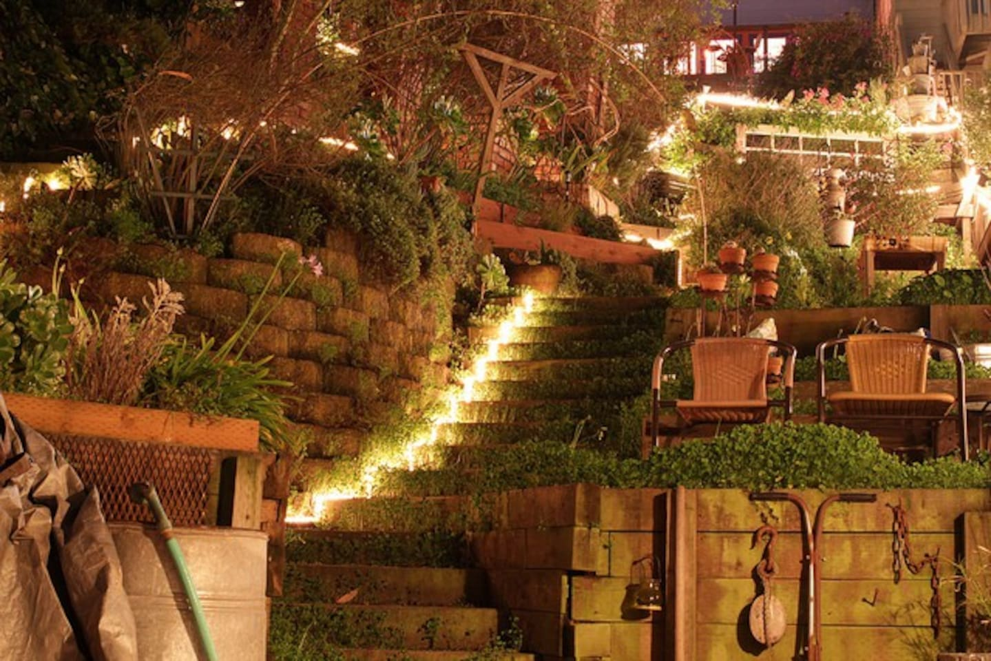 Three Rooms in SF Gem with Magical Garden & Views! - Houses for Rent ...